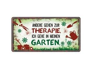 Gartenschild Dekoschild Garten Metallschild Schilder Geschenk