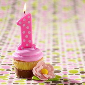Image Is Loading Girls Jumbo Birthday Cake Candle Giant 11 5cm