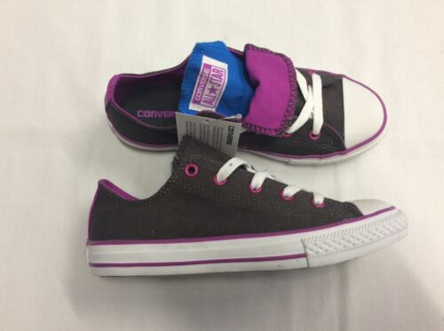 Tongue Uk Grey Taylor 3 Chuck Trainers Double Converse Ox xvPTw