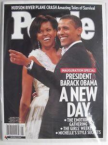 BARACK-amp-MICHELLE-OBAMA-A-NEW-DAY-2009-Magazine-NEW-MINT-SEALED