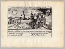 Steinfurt-Schloss Burgsteinfurt - Kupferstich Meisner Schatzkästlein 1630