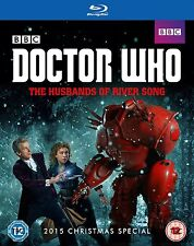 The Doctor Who 2015 Christmas Special - The Husbands of River Song [Blu-ray] NEU