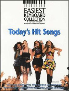 Easiest-Keyboard-Collection-Today-039-s-Hit-Songs-Music-Book-Gary-Barlow-Little-Mix