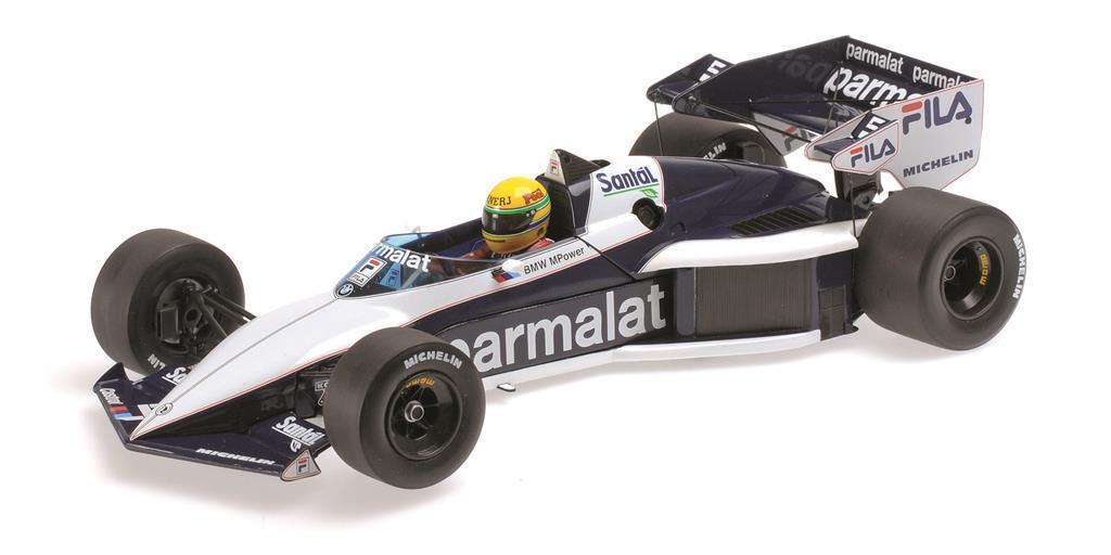 MINICHAMPS 540831899 BRABHAM BMW BMW BMW bt52b, A. Senna test car 1983 échelle 1:18 | Excellente Qualité  5c6b14