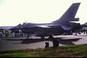 4-405-SABCA-F-16AM-Fighting-Falcon-C-N-6H-55-Belgium-Air-Force-Kodachrome-SLIDE