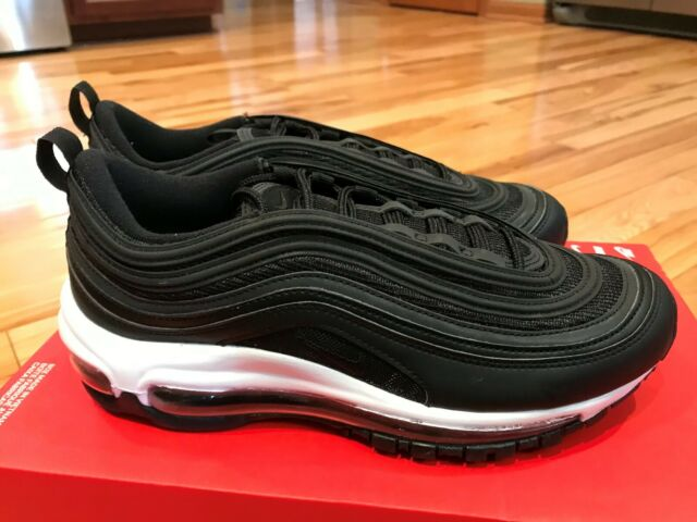 Nike Women's Air Max 97 Black White 921733 006 Size 9