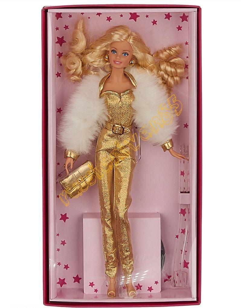Muñeca Barbie. Original Colección. oro Label Collection. oroen sueño.