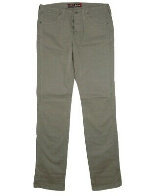 2019 Nuovo Stile Pantaloni Jeans Uomo Jaggy Mcqueen Tg W 31 32 It 44 46 Slim Cotone Gabardine Ultima Moda