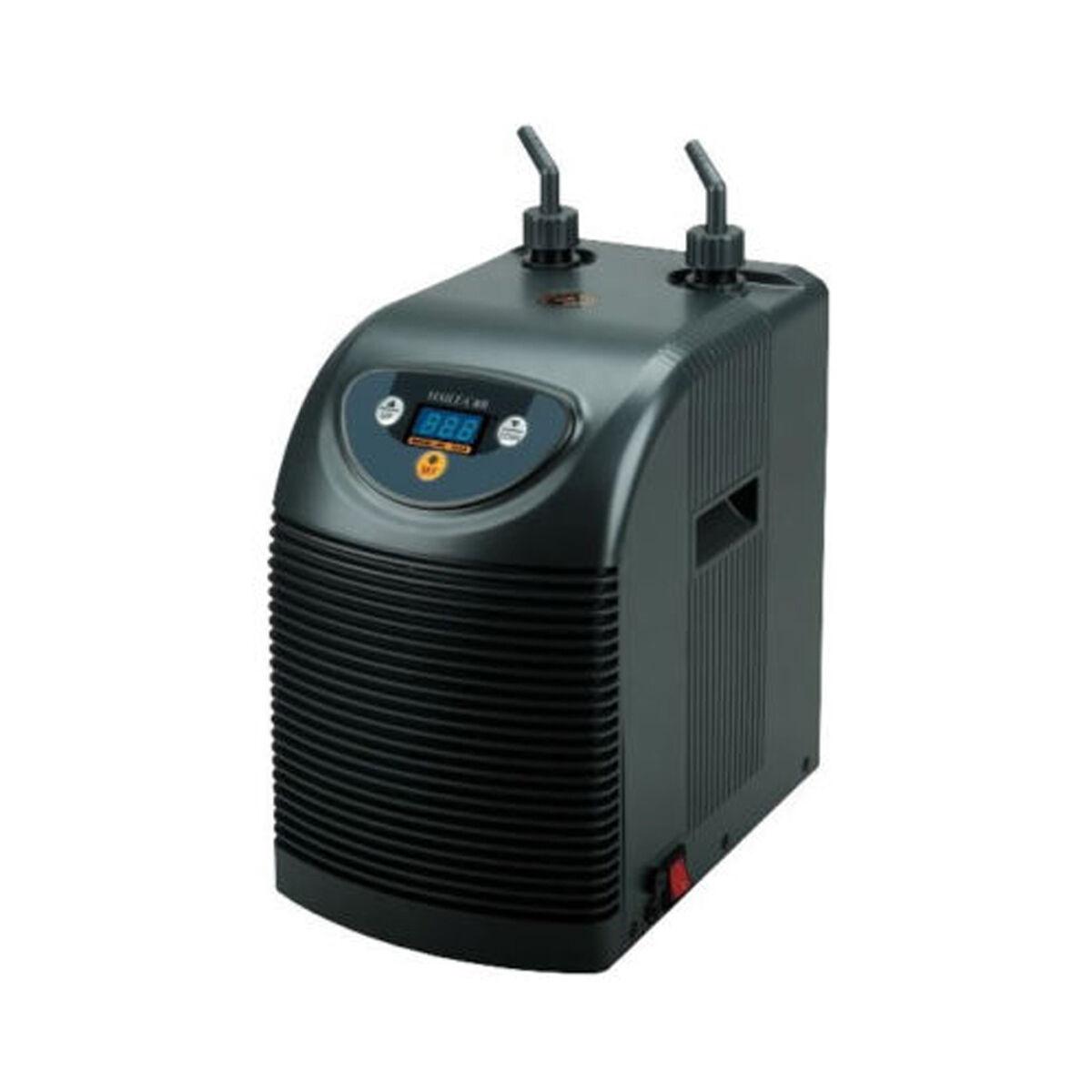 Refrigeratore Refrigeratore Refrigeratore d'acqua acquario Hailea HC 100A 100 litri di capacità di raffreddonnato  NUOVO  9124c5