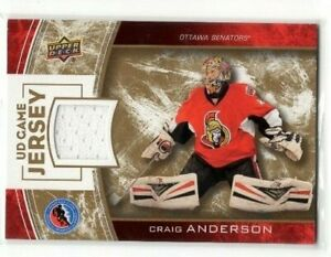 2014-UPPER-DECK-HALL-OF-FAME-JERSEY-CRAIG-ANDERSON-HHOF-CA