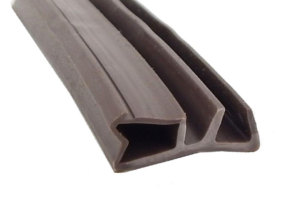 Fensterdichtung AC 2728 braun 100m0,89 Euro m Falzbreite 10 bis 12 mm Nut 4 mm | Lass unsere Waren in die Welt gehen