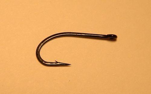 12-Gamakatsu SL45 Premium Bonefish Fly Hooks #8 black