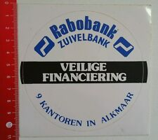 Aufkleber/Sticker: Rabobank (030616107)
