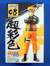 Naruto Shippuden HSCF High Spec Coloring Figure 3 No.08 NARUTO Banpresto NEW