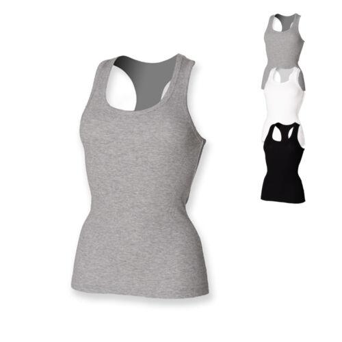 SF Women Damen Tank Top Unterhemd WOMEN`S STRETCH TANK S M L Neu SF150