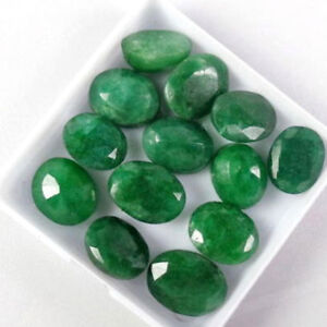 Natural-emerald-lot-60-Ct-9-Pcs-Natural-Oval-Cut-emerald-Gemstones-Lot-offer