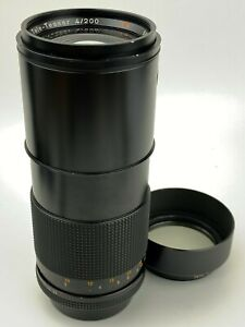 Contax-Carl-Zeiss-200mm-F4-Tele-Tessar-T-Lens-made-in-Germany