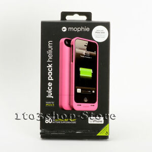 official photos 19702 cc5e9 Details about Mophie Juice Pack Helium iPhone 5 5s iPhone SE Backup Battery  Charger Case Pink
