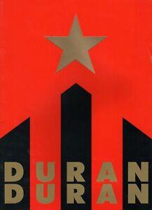 DURAN DURAN 1987 STRANGE BEHAVIOUR WORLD TOUR PROGRAM CONCERT BOOK-VG 2 MINT