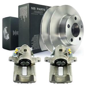 2x-Brake-Caliper-Brake-Discs-Audi-A6-4B2-C5-Avant-4B5-Allroad-4BH