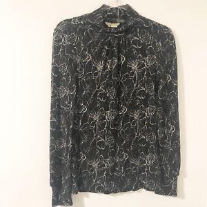 Royal-Robbins-Mock-Neck-Knit-Top-Women-s-Size-Medium