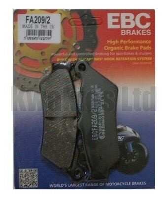 BMW G650GS G650 R13 2009-2015 Pair of EBC Front Brake Pads FA209//2