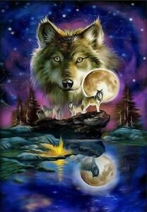 DIY-Diamond-Painting-Part-Drill-Wolf-5D-Embroidery-Cross-Stitch-Kits-Mural-Decor