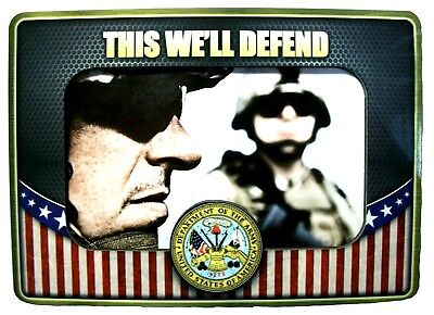 United State Army This We Ll Defend Picture Frame Fridge Magnet Ebay