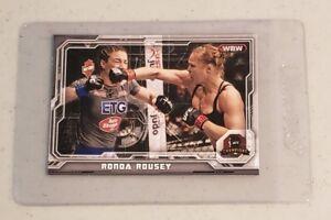 Ronda Rousey 2014 Topps UFC Champions #76 FREE SHIPPING