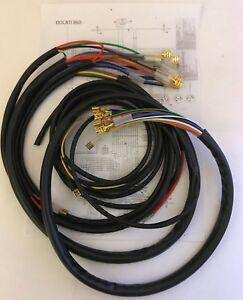 IMPIANTO-ELETTRICO-ELECTRICAL-WIRING-MOTO-DUCATI-860-CON-SCHEMA-ELETTRICO