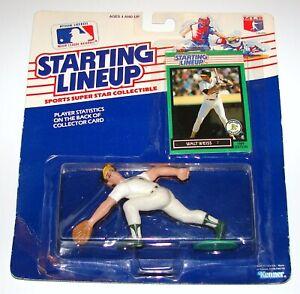 Starting Lineup Walt Weiss MLB Baseball Figure Card MOC KENNER 1989