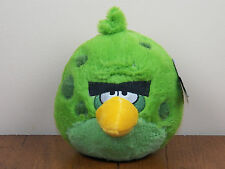 "Angry Birds Space Incredible Green Terence 5"" Plush Stuffed Animal Doll **NEW**"
