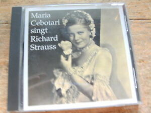 Maria-Cebotari-singt-Richard-Strauss-CD-Album-1943-Preiser-Records