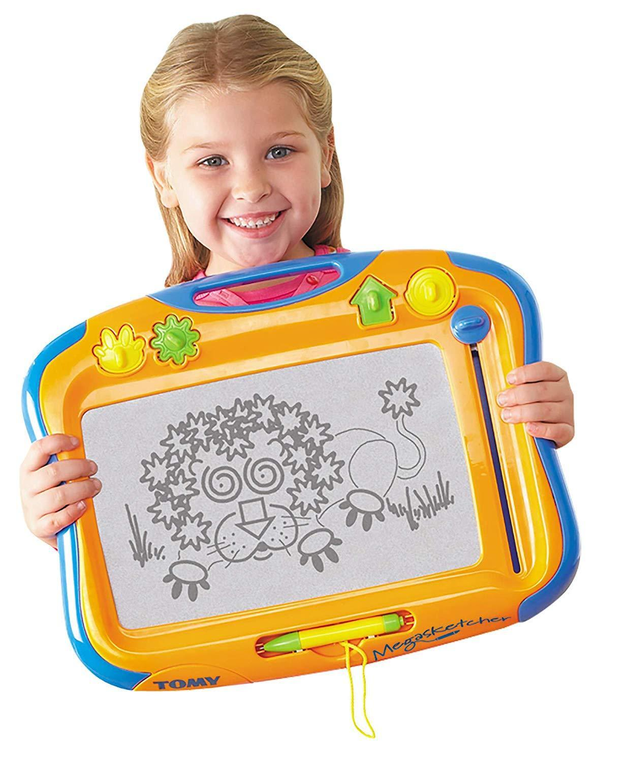 TOMY 6555 Megasketcher Magnetic Childrens Kids Drawing Sketching Board Toy