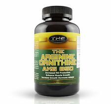 L-Arginin AKG + L-Ornithin AKG (16,04€/100g) 200 Kapseln AAKG / Durchblutung