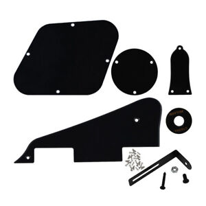 1Ply-Noir-LP-Guitare-Pickguard-Plaque-Arriere-Set-scratch-plate-pour-Les-Paul-Guitare