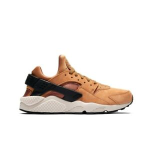 Mens Nike Air Huarache Run Premium Brown black 704830 700 Trainers 704830 700