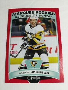 2019-20-Upper-Deck-O-Pee-Chee-Adam-Johnson-Red-Border-Parallel
