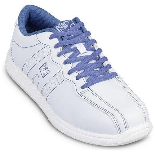 KR Strikeforce OPP White Periwinkle Women's Bowling shoes
