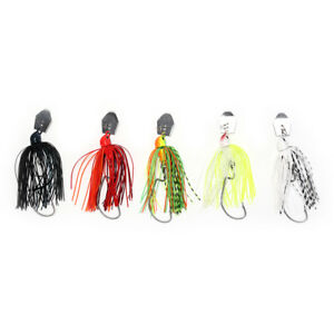 spinner-fishing-lures-bass-crankbait-crank-bait-tackle-hook-mixed-colour-XE