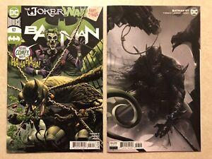 BATMAN # 97 Lot (2020) — Covers A & B Variant JOKER WAR — NM