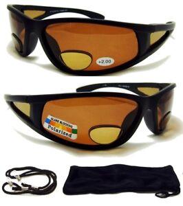 2cc3cfc200b3 2.00 Polarized BIFOCAL SunGlasses Mens Womens Sport Fishing Glasses ...