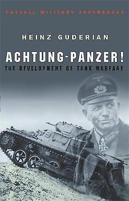 Achtung Panzer! by Heinz Guderian (Paperback) New Book