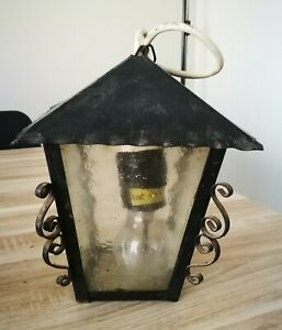Details Sur Lampe Lanterne Exterieure Veranda Terrasse Eclairage Exterieur Suspendu