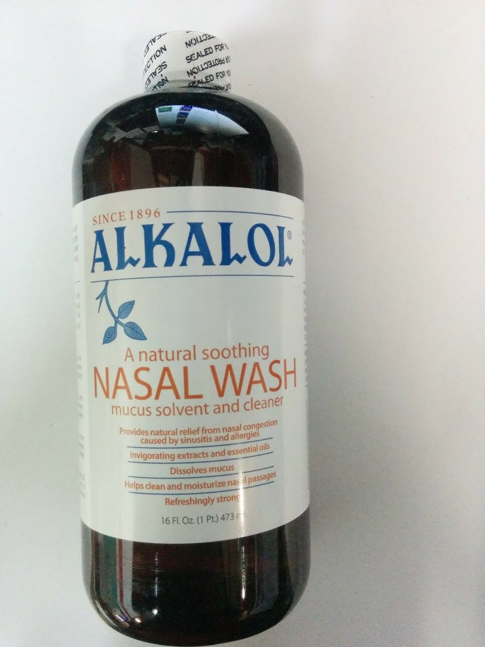 Alkalol Company Mucus Solvent and Cleaner 16 Fluid Ounce