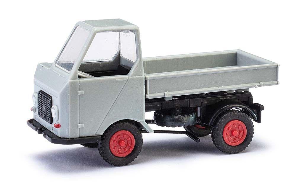 Busch Pantaloni Farina 210003604 Multicar M22 3-Seitenkipper grey Modello 1 87