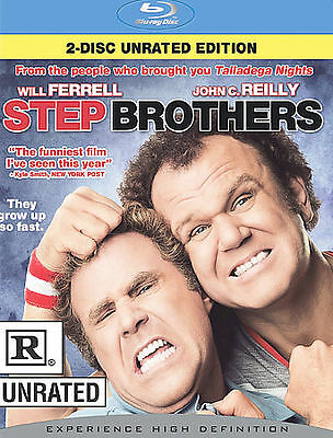Step Brothers Rated Unrated Blu Ray New Free Shipping 43396261129 Ebay