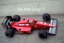 Michele Alboreto Ferrari F1/87 GRAN PREMIO degli Stati Uniti d'America-EST 1987 fotografia 2