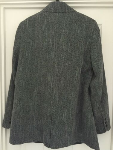 Ladies Size Very Breasted 16 V Single Blazer By Mono Textured awraCq7