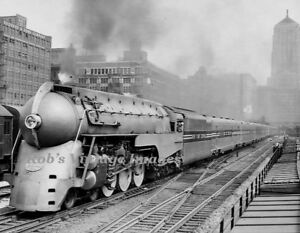 New York Central Photo J3a 20th Limited Hudson Bullet Train Nyc Ebay